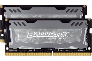 Память DDR4 2x4Gb 2400MHz Crucial BLS2C4G4S240FSD RTL PC4-19200 CL9 SO-DIMM 260-pin 1.2В kit single rank