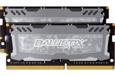 Память DDR4 2x8Gb 2400MHz Crucial BLS2C8G4S240FSD RTL PC4-19200 CL16 SO-DIMM 260-pin 1.2В kit