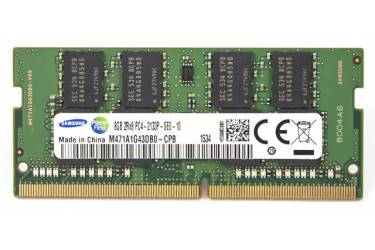 Память DDR4 8Gb 2133MHz Samsung M471A1G43DB0-CPB OEM PC4-17000 CL15 SO-DIMM 260-pin 1.2В