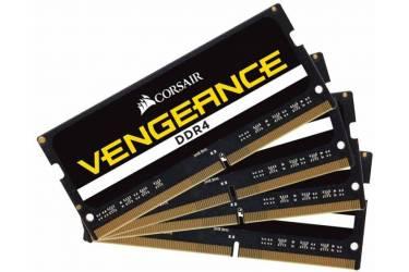 Память DDR4 4x16Gb 2400MHz Corsair CMSX64GX4M4A2400C16 RTL PC4-19200 CL16 SO-DIMM 260-pin 1.2В