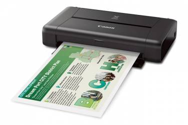 Принтер струйный Canon Pixma IP110 (9596B009) A4 WiFi USB черный