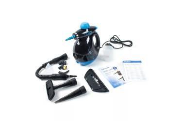 Пароочиститель Endever Odyssey Q-409, черно-голубой