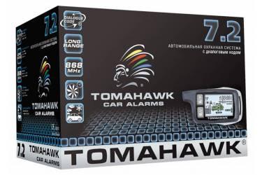 Автосигнализация Tomahawk 7.2 с обратной связью брелок с ЖК дисплеем