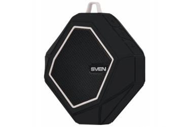 Беспроводная (bluetooth) акустика Sven PS-77 Wateproof (IPx5) Черно-белая