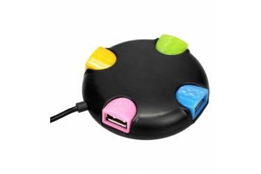 Кардридер Perfeo USB-HUB 4 Port (PF-VI-H020 Black)