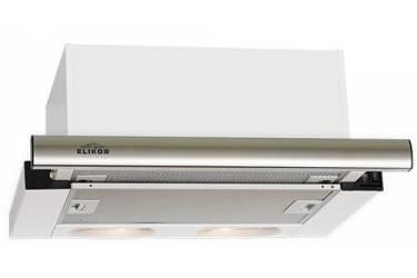 Вытяжка встраиваемая Elikor Интегра S2 60Н-700-В2Д нержавеющая сталь управление: кнопочное (1 мотор)