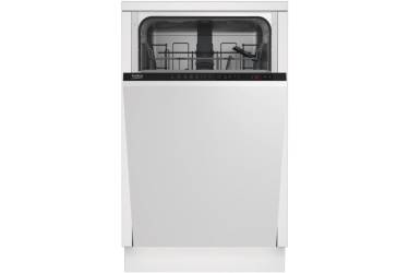Посудомоечная машина BEKO DIS 25010 белый 5пр 3реж 10,5л 10компл в*ш*г 82*45*55см дисплей