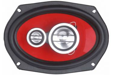 Колонки автомобильные Supra SSB-69 (без решетки) 260Вт 91дБ 4Ом 15x23см (6x9дюйм) (ком.:1кол.) коаксиальные трехполосные