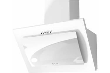 Вытяжка каминная Lex Mika C 600 белый управление: кнопочное (1 мотор)