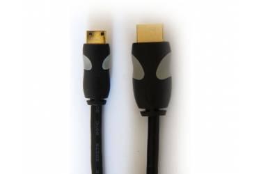 Кабель HDMI (a-m) - miniHDMI (c-m) SmartBuy v1.4b 2м (пакет)