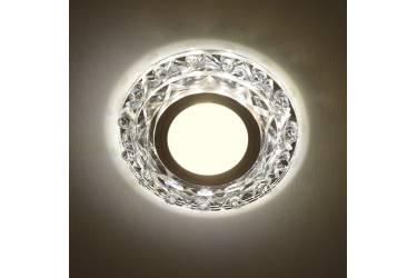 Светильник точечный Uniel DLS-L130 GU5.3 CHROME/CLEAR без лампы