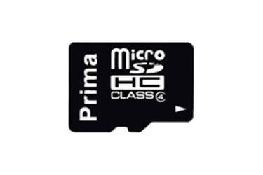 Карта памяти Prima MicroSDHC 8GB Class 4