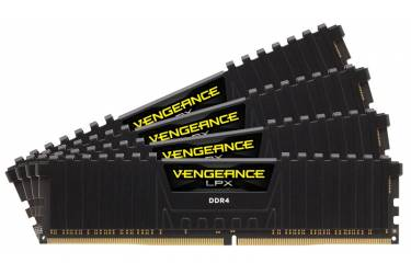 Память DDR4 4x8Gb 2666MHz Corsair CMK32GX4M4A2666C16 RTL PC4-21300 CL16 DIMM 288-pin 1.2В