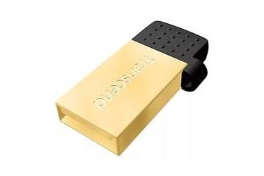 USB флэш-накопитель 32GB Transcend JetFlash 380G золотистый USB2.0 OTG