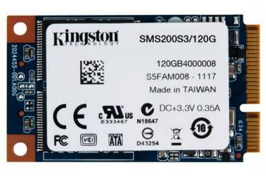 Накопитель SSD Kingston SATA III 120Gb SMS200S3/120G mSATA
