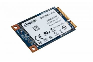 Накопитель SSD Kingston SATA III 240Gb SMS200S3/240G SSDNow mS200 mSATA