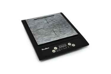Плитка индукционная электрическая TESLER PI-13 черный/серый 2000Вт 7программ стеклокерамика