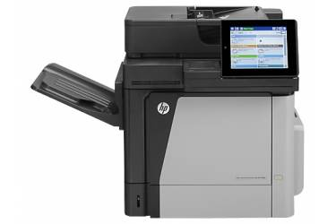 МФУ лазерный HP Color LaserJet Enterprise Flow M680dn (CZ248A) A4 Duplex Net серый/черный