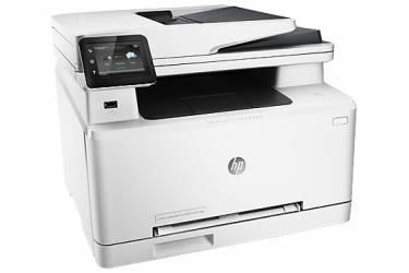 МФУ лазерный HP Color LaserJet Pro 200 MFP M277dw (B3Q11A) A4 Duplex WiFi белый