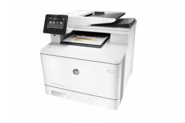 МФУ лазерный HP Color LaserJet Pro M477fdw (CF379A) A4 Duplex Net WiFi белый