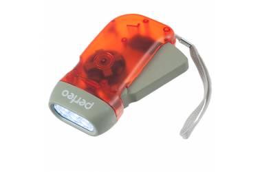 Фонарь Perfeo электродинамический светодиодный красный 40LM