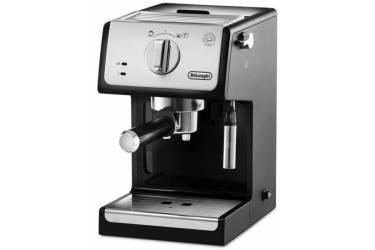 Кофеварка эспрессо Delonghi ECP 33.21 1100Вт серебристый/черный