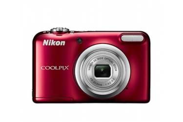 Цифровой фотоаппарат Nikon CoolPix A10 красный