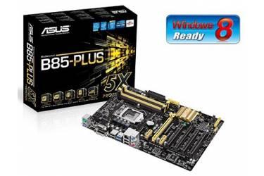 Материнская плата Asus B85-PLUS Soc-1150 Intel B85 4xDDR3 ATX AC`97 8ch(7.1) GbLAN+VGA+DVI