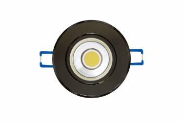 Светильник светодиодный встраиваемый Uniel ULM-R31-3W/NW IP20 BLACK CHROME черный хром