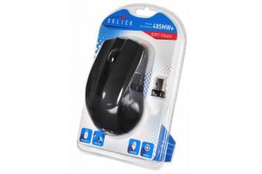 Мышь Oklick 485MW+ черный оптическая (1200dpi) беспроводная USB (2but)