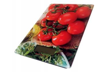 Весы кухонные электронные Supra BSS-4205 стекло с рисунком 10кг