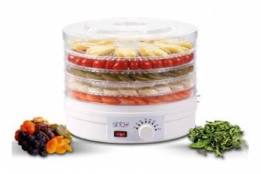 Сушка для фруктов и овощей Sinbo SFD 7401 5под. 245Вт белый
