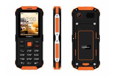 Мобильный телефон teXet TM-501R черный-оранжевый
