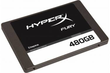 "Накопитель SSD Kingston SATA III 480Gb SHFS37A/480G HyperX FURY 2.5"""