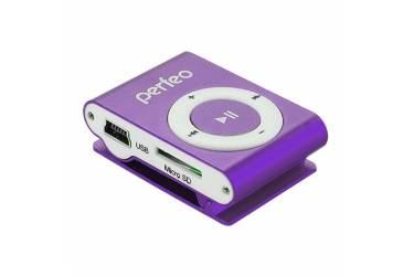 Портативный цифровой плеер Perfeo Music Clip Titanium 8 Gb фиолетовый