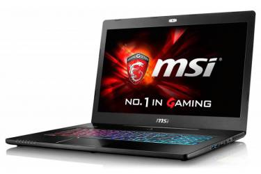 "Ноутбук MSI GS72 6QE(Stealth Pro)-435XRU Core i5 6300HQ/8Gb/1Tb/nVidia GeForce GTX 970M 3Gb/17.3""/FHD (1920x1080)/Free DOS/black/WiFi/BT/Cam"