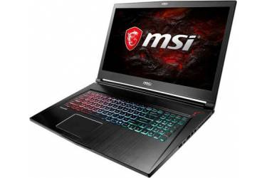"Ноутбук MSI GS73 7RE(Stealth Pro)-028RU Core i7 7700HQ/8Gb/2Tb/SSD128Gb/nVidia GeForce GTX 1050 Ti 4Gb/17.3""/FHD (1920x1080)/Windows 10/black/WiFi/BT/Cam"