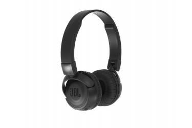 Наушники беспроводные (Bluetooth) JBL T500BT накладные с микрофоном черные