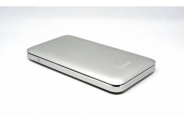 Внешний аккумулятор (Power Bank) Auzer AP10000 алюминиевый серебристый