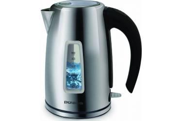 Чайник электрический Polaris PWK1740CAL 1.7л. 2200Вт серебристый (корпус: нержавеющая сталь)
