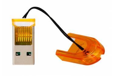 Картридер MicroSD Smartbuy оранжевый (SBR-710-O)