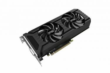 Видеокарта Palit PCI-E PA-GTX1060 DUAL 3G nVidia GeForce GTX 1060 3072Mb 192bit GDDR5 1506/8000 DVIx1/HDMIx1/DPx3/HDCP Bulk