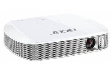 Проектор Acer C205 DLP 150Lm (854x480) 1000:1 ресурс лампы:20000часов 1xUSB typeA 1xHDMI 0.302кг
