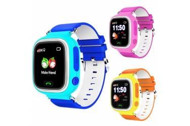 Умные часы Smart Baby Watch Q90 Dark Blue