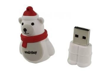 USB флэш-накопитель 16GB SmartBuy Wild series Белый Медведь USB2.0