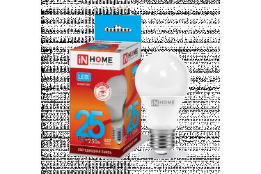 Лампа светодиодная IN HOME LED-A70-VC 25Вт 230В Е27 4000К 2250Лм