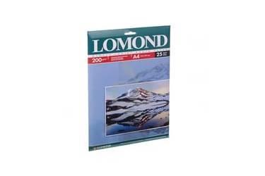 Фотобумага Lomond A4 200 г/м2 глянц 25л