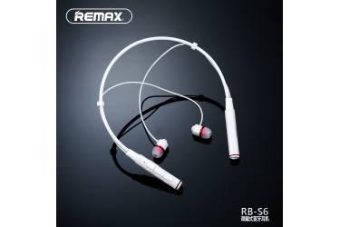 Гарнитура Bluetooth Remax RB-S6 (белый)