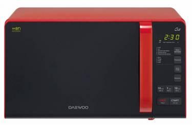 Микроволновая Печь Daewoo KQG-663R 20л. 700Вт красный/черный