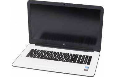 "Ноутбук HP 17-x046ur Pentium N3710/4Gb/1Tb/DVD-RW/AMD Radeon R5 M430 2Gb/17.3""/IPS/FHD (1920x1080)/Windows 10 64/white/silver/WiFi/BT/Cam/2670mAh"